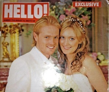 Georgina Ahern and Nicky Byrne
