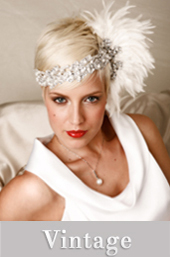 vintage headpieces by Tahnee Morgan